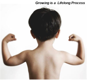 Dreaming is a Lifelong Growing Process