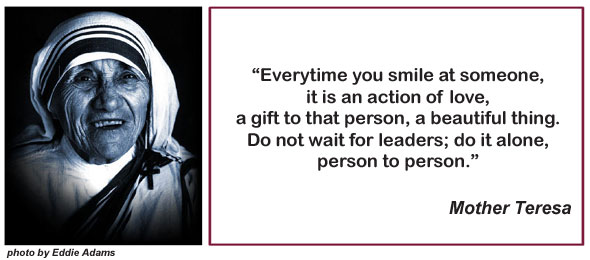 Mother Teresa and Quote