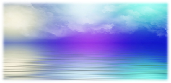 Image of Beautiful Horizon, rich with purple and orange pastel colors