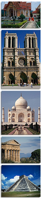Temples from around the world
