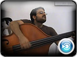 MJ Tribute on a Double Bass